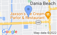 Map of Dania Beach FL