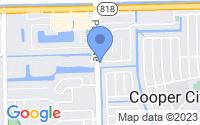 Map of Cooper City FL