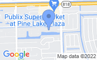 Map of Cooper City FL