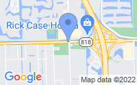 Map of Southwest Ranches FL