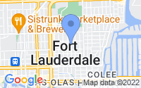 Map of Fort Lauderdale FL