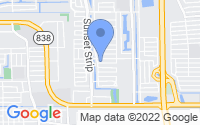 Map of Sunrise FL