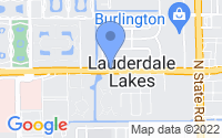 Map of Lauderdale Lakes FL
