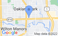 Map of Oakland Park FL