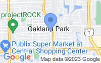Map of Oakland Park FL