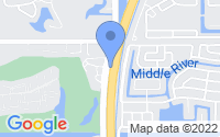 Map of Lauderdale Lakes FL