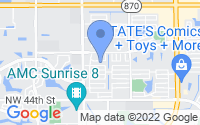 Map of Lauderhill FL