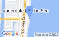 Map of Lauderdale-by-the-Sea FL