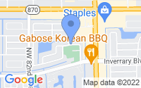 Map of Lauderhill FL