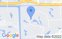 Map of Pompano Beach FL