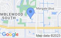 Map of Margate FL
