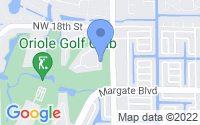 Map of Margate FL