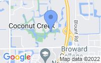 Map of Coconut Creek FL