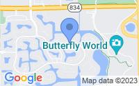 Map of Coconut Creek FL