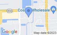 Map of Pompano Beach FL