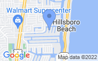 Map of Lighthouse Point FL