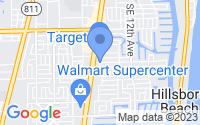 Map of Deerfield Beach FL