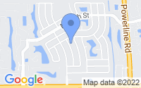Map of Deerfield Beach FL