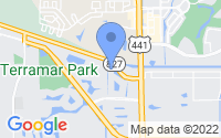 Map of Parkland FL