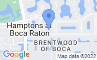 Map of Boca Raton FL