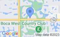 Map of Boca Raton FL