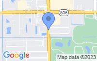Map of Delray Beach FL