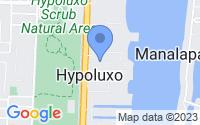 Map of Hypoluxo FL