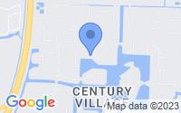 Map of West Palm Beach FL