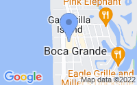 Map of Boca Grande FL