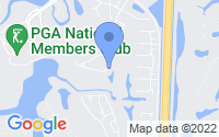 Map of Palm Beach Gardens FL