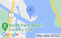 Map of North Palm Beach FL