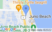 Map of Juno Beach FL