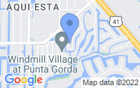 Map of Punta Gorda FL