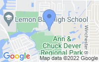 Map of Englewood FL