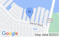 Map of Port Charlotte FL