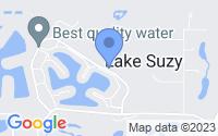 Map of Lake Suzy FL