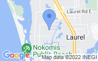 Map of Nokomis FL