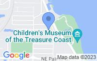 Map of Jensen Beach FL