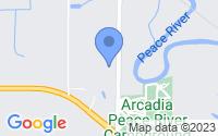 Map of Arcadia FL