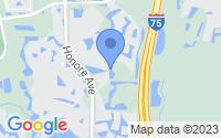 Map of Sarasota FL
