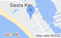 Map of Siesta Key FL