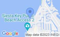 Map of Siesta Key FL