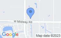 Map of Fort Pierce FL