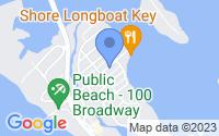 Map of Longboat Key FL