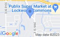 Map of Bradenton FL