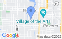 Map of Bradenton FL