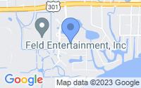 Map of Ellenton FL
