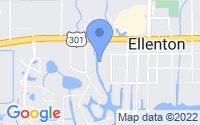 Map of Ellenton FL