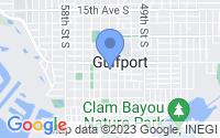 Map of Gulfport FL