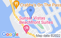 Map of Treasure Island FL